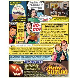 Suzuki Cartoon 2013