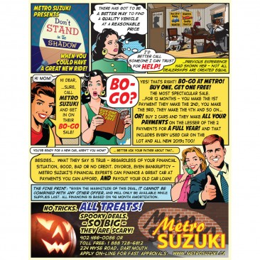 Suzuki Cartoon 2013