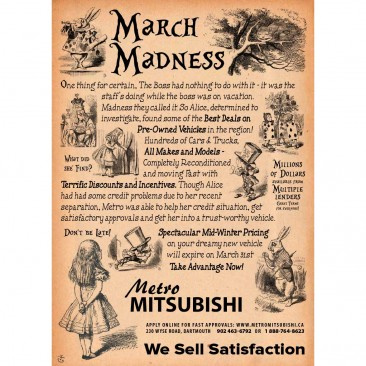Mitsubishi March Madness – 2013