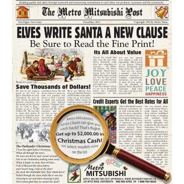 Metro Auto Christmas 2013