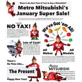 Mitsubishi January Super Sale 2014