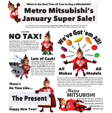 Mitsubishi January Super Sale 2014