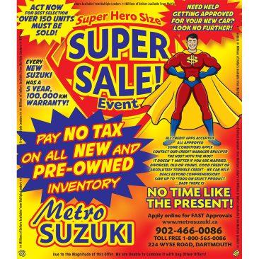 Suzuki SuperSale 2013
