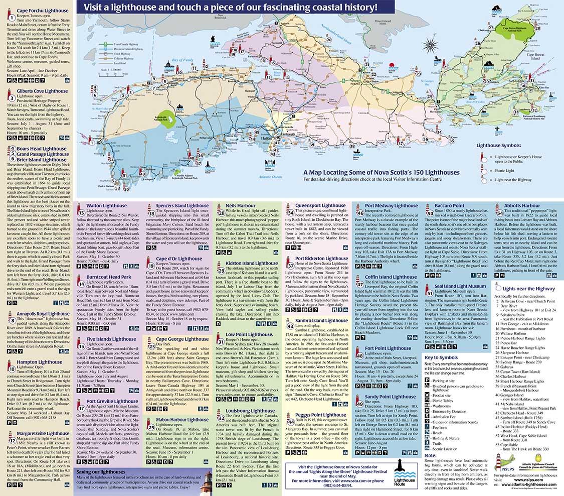 Nova Scotia Railway History Brochure – Gulf Stream Cottage, Tanya